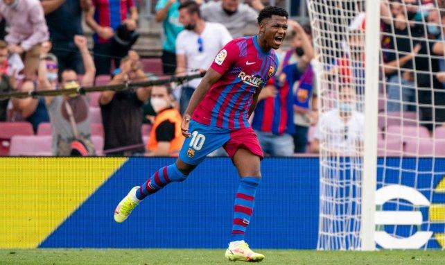 Le FC Barcelone a bouclé la prolongation d'Ansu Fati !