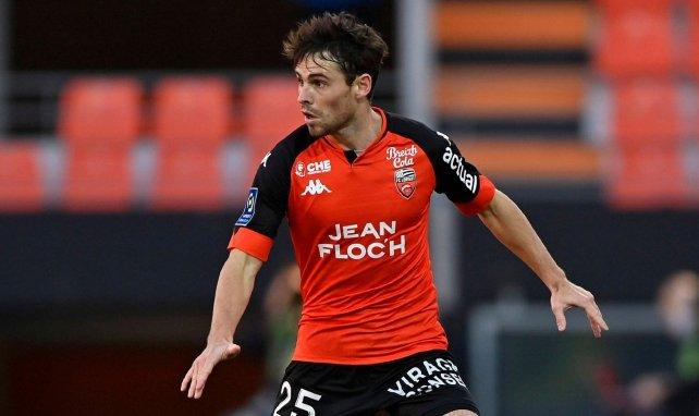 Vincent Le Goff sous le maillot du FC Lorient