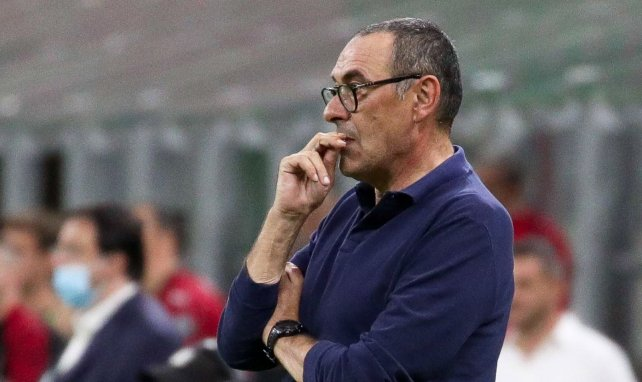 Juventus :  Maurizio Sarri évoque son avenir