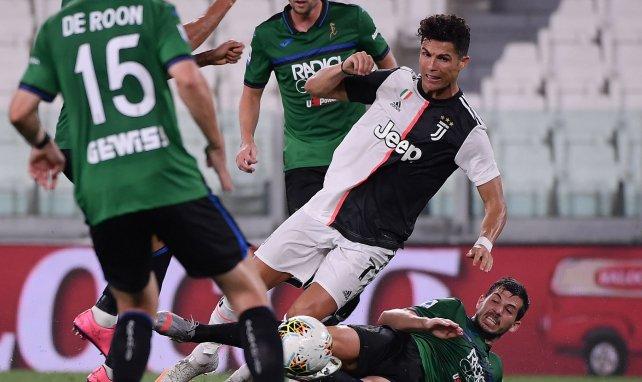 Les duels ont été âpres entre Sassuolo et la Juventus