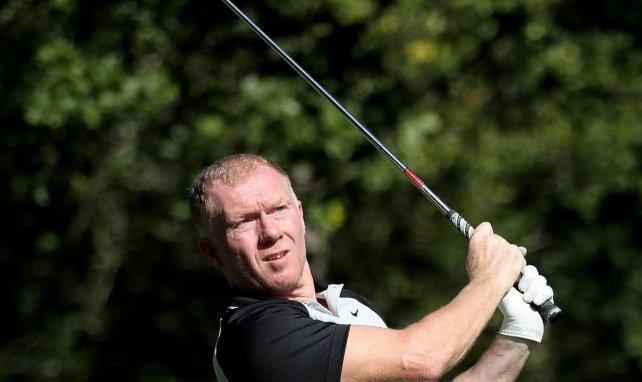 Joueur, entraîneur, Paul Scholes est aussi un golfeur confirmé