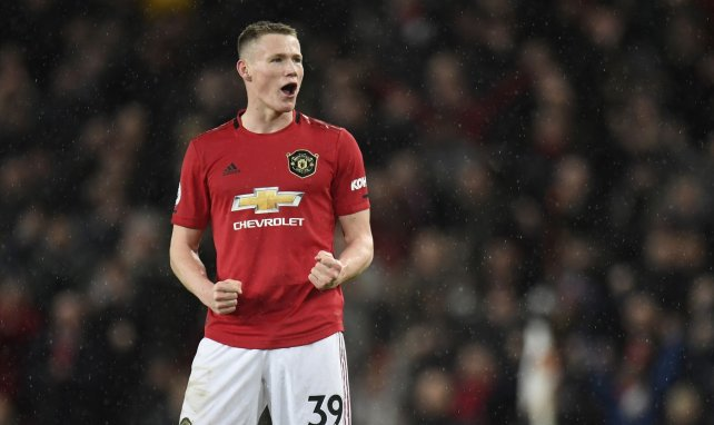 Scott McTominay sous le maillot de Manchester United