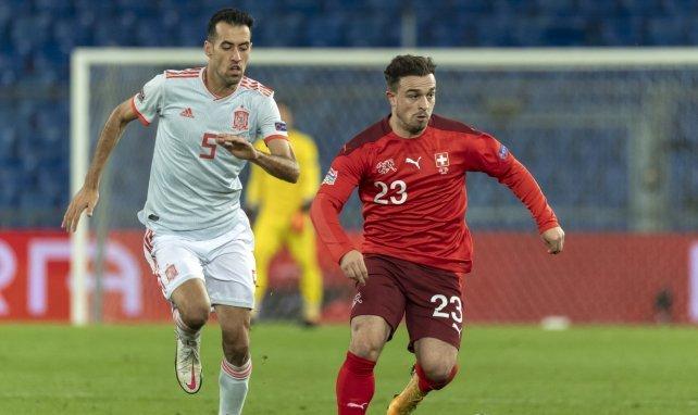 Sergio Busquets contre la Suisse