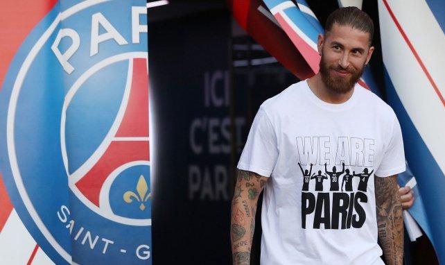 PSG : Sergio Ramos encore absent de l'entraînement collectif