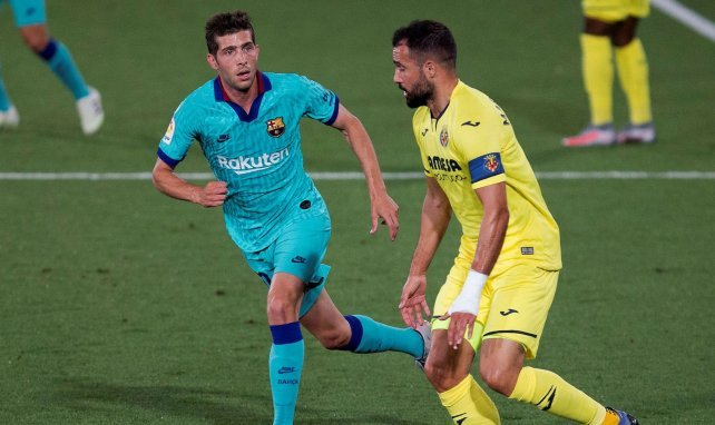 Barça :  l'agent de Sergi Roberto démonte la rumeur Man City