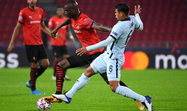 Serhou Guirassy face à Thiago Silva