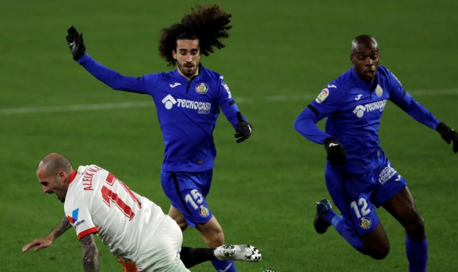 Marc Cucurella avec Getafe contre le Séville FC