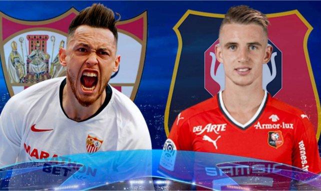 Séville FC - Rennes : les compositions officielles