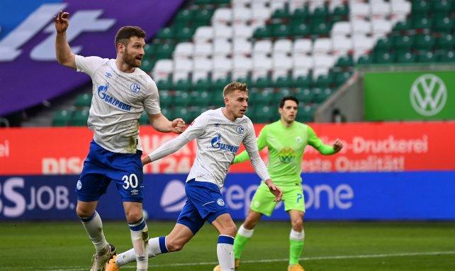Shkodran Mustafi im Einsatz für den FC Schalke 04