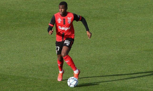 Sikou Niakaté sous le maillot de Guingamp