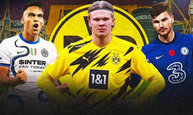 JT Foot Mercato : les 4 pistes pour remplacer Erling Haaland au Borussia Dortmund