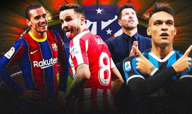 JT Foot Mercato : l'Atlético de Madrid sur tous les fronts