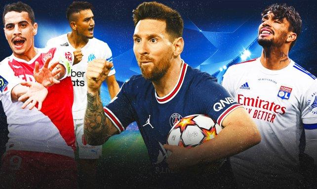 JT  Foot Mercato : les clubs français font trembler l'Europe