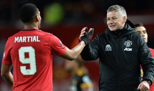 MU : Ole Gunnar Solskjaer attend plus d'Anthony Martial