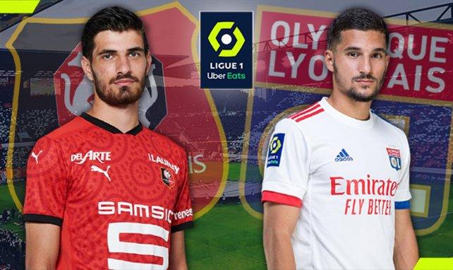 Les compositions probables de Stade Rennais - Olympique Lyonnais