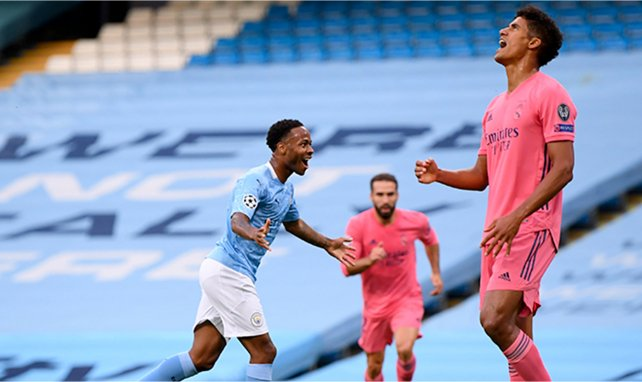 Raheem Sterling buteur contre le Real Madrid