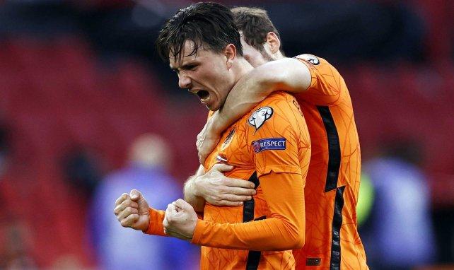 Steven Berghuis avec les Pays-Bas