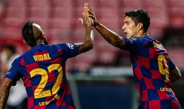 Suarez et Vidal ne sont toujours pas partis du Barça