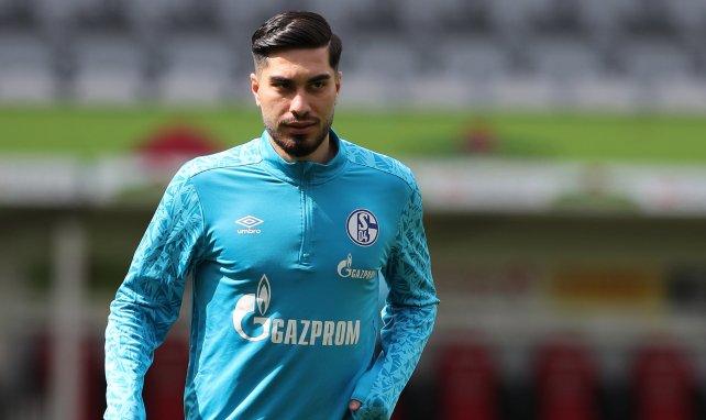 Suat Serdar à l'entraînement avec Schalke 04