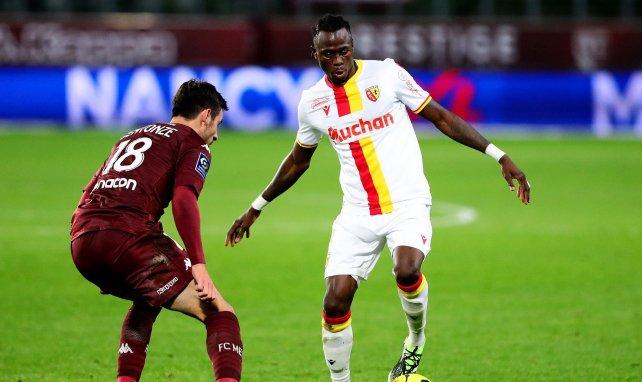 Issiaga Sylla contre le FC Metz en Ligue 1