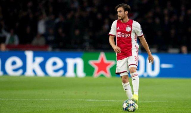 Nicolas Tagliafico sous les couleurs de l'Ajax