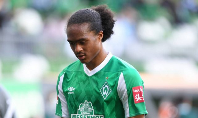 Tahith Chong avec le Werder