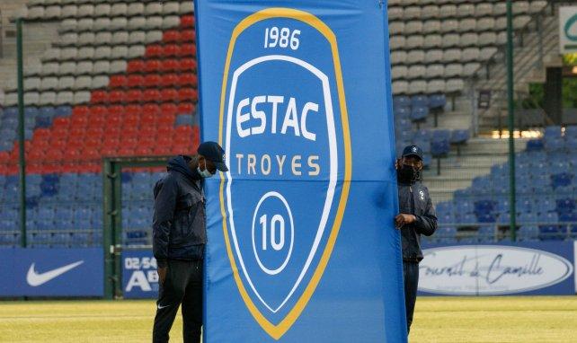 Le logo de l'ESTAC