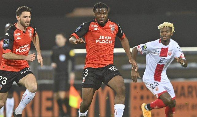 Terem Moffi ici sous le maillot de Lorient