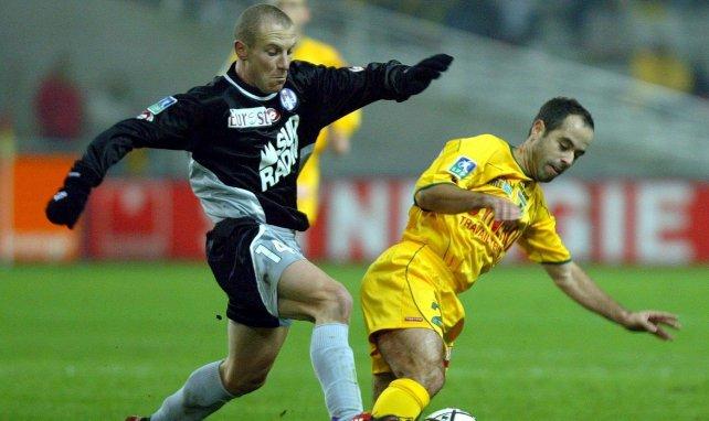 Florent Balmont et Stéphane Ziani lors d'un Toulouse-Nantes en 2003
