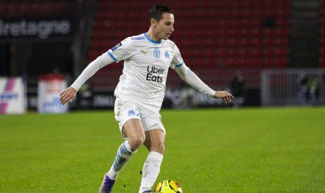 Florian Thauvin lors de Rennes-OM