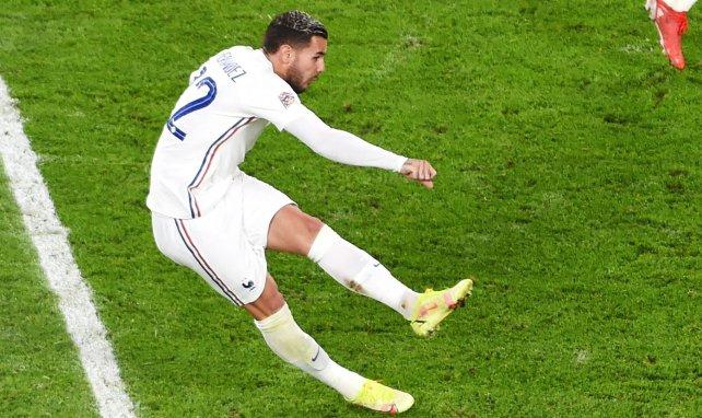 Le tir vainqueur de Théo Hernandez face à la Belgique