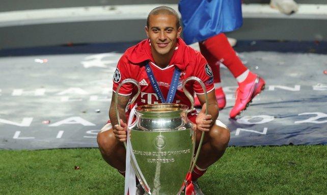 Bayern Munich : les adieux de Thiago Alcantara