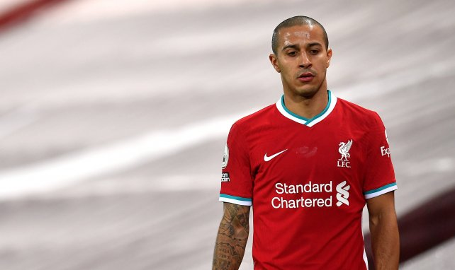 Liverpool : coup dur pour Thiago Alcantara