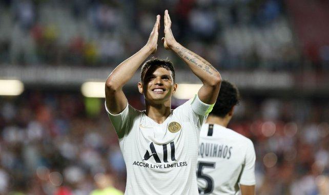 PSG : Thiago Silva se méfie des attaquants de l'Atalanta