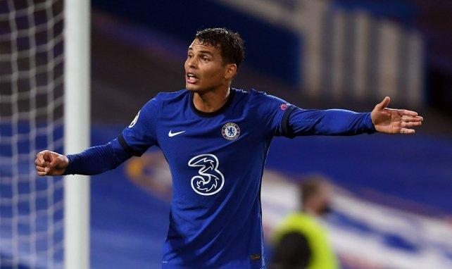 Thiago Silva sous le maillot de Chelsea