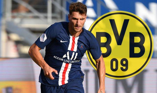 Thomas Meunier sous le maillot du PSG