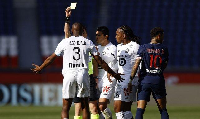 Tiago Djalo n'a toujours pas digéré le carton rouge reçu face au PSG