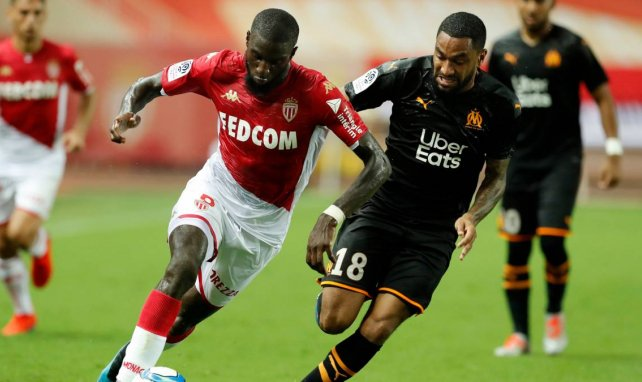Tiemoué Bakayoko avec l'AS Monaco