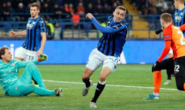 Timothy Castagne en Ligue des Champions avec l'Atalanta