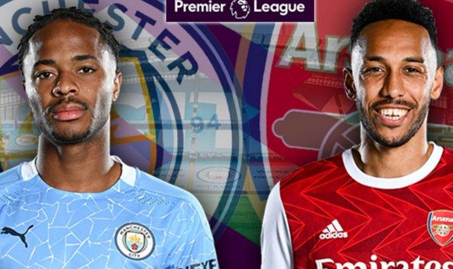 Les compositions probables de Manchester City - Arsenal