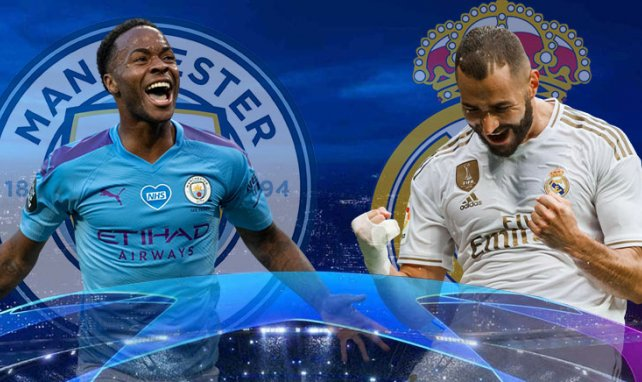 Manchester City-Real Madrid : les compositions probables