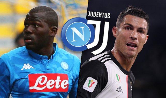 Kalidou Koulibaly et Cristiano Ronaldo vont s'affronter en finale de la Coupe d'Italie