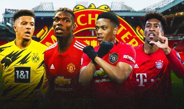 JT Foot Mercato : Manchester United enchaîne les offres XXL