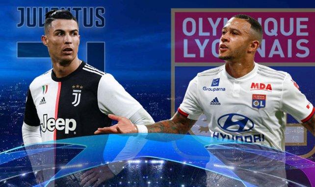 Juventus-OL : les compositions officielles du 8e de finale retour de C1 !