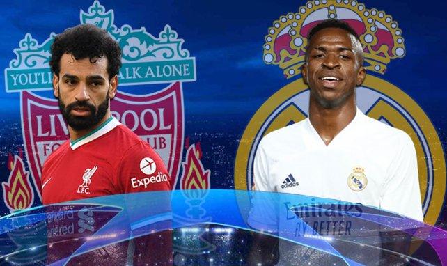 Salah et Vinicius Jr devraient être titulaires ce mercredi soir