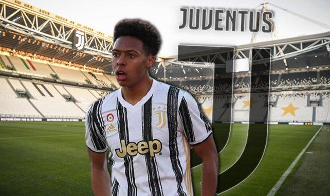 Marley Aké, sous les couleurs de la Juventus