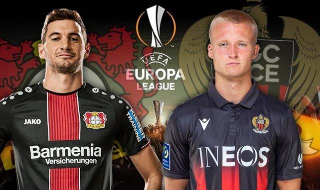 Lucas Alario et Kasper Dolberg sont alignés ce soir.