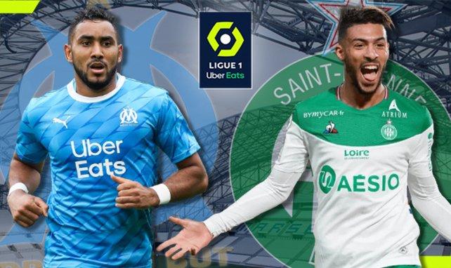 OM-AS Saint-Étienne : les compositions d'équipes !