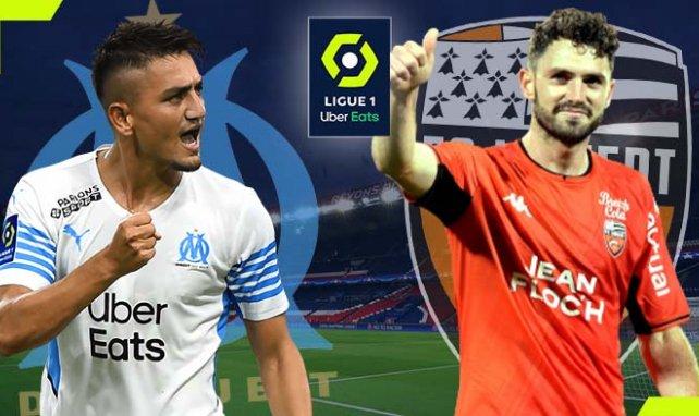 OM-FC Lorient : les compositions probables