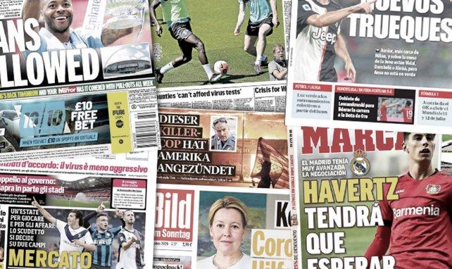 L'incroyable menace planant sur la Serie A en cas de nouvel arrêt, la folle demande de Marc-André Ter Stegen pour prolonger au Barça